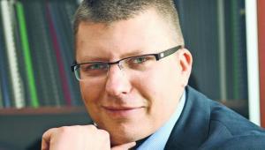Dr Marcin Warchoł, podsekretarz stanu w Ministerstwie Sprawiedliwości