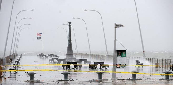 Nowy Jork - Sandy w akcji.