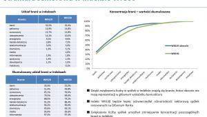 Struktura sektorowa w indeksie WIG30