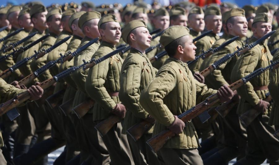 II wojna swiatowa: Dzien Zwyciestwa w w Rosji, na Ukrainie i na ...
