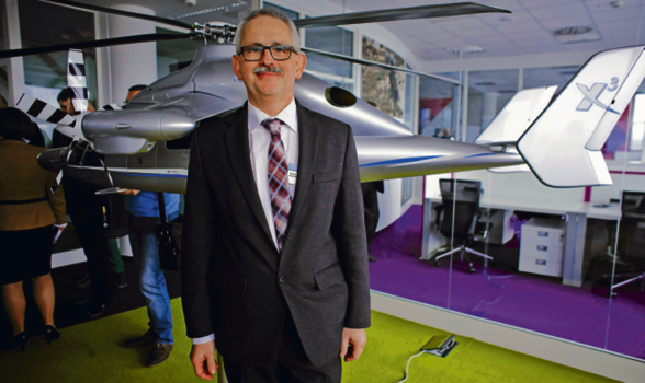 Tomasz Krysiński, szef innowacji i rozwoju w Airbus Helicopters