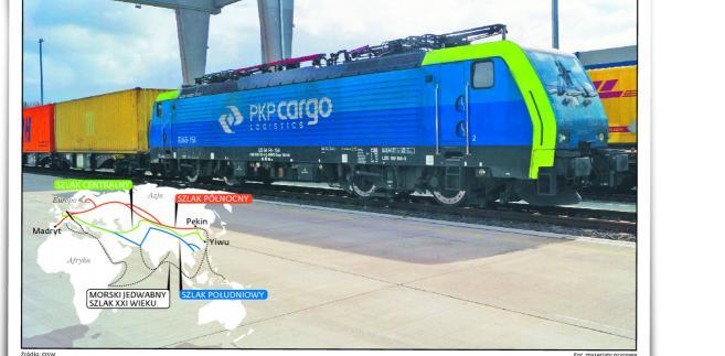 Logistyczny cel: zapełnić kontenery w drodze za Chiński Mur