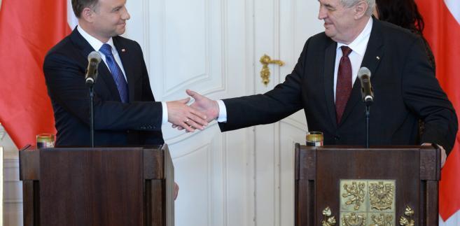 Wizyta polskiego prezydenta w Pradze