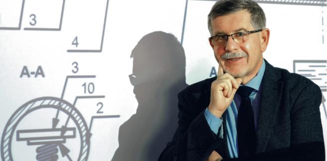 Dr inż. Eugeniusz Orszulik z Głównego Instytutu Górnictwa