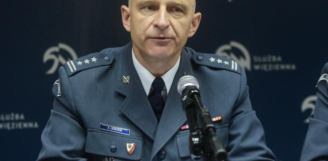 Dyrektor Biura Penitencjarnego CZSW płk Andrzej Leńczuk,