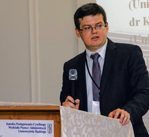 """Doktor Krystian Markiewicz, sędzia Sądu Okręgowego w Katowicach, prezes Stowarzyszenia Sędziów Polskich """"Iustitia"""""""