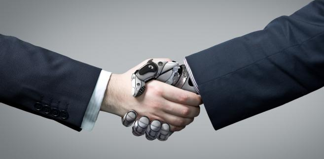 robot, biznes