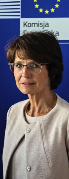 Marianne Thyssen, unijna komisarz ds. zatrudnienia, spraw społecznych, umiejętności i mobilności pracowników