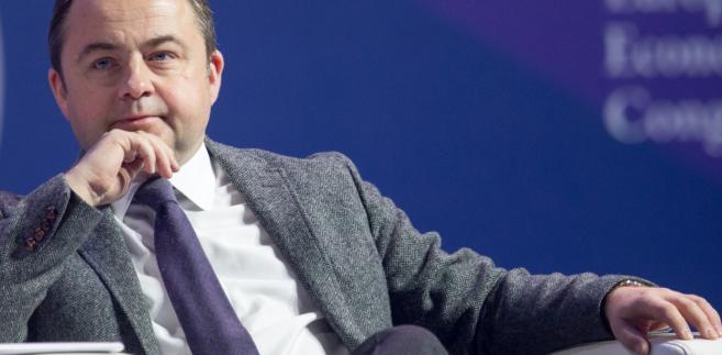 Sekretarz stanu ds. europejskich w MSZ Konrad Szymański