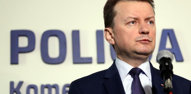 Błaszczak: Łapiński zasłużył na awans. Straż Graniczna oparła się