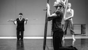 Hamlet-komentarz Teatr Pieśń Kozła, fot. Mateusz Bral