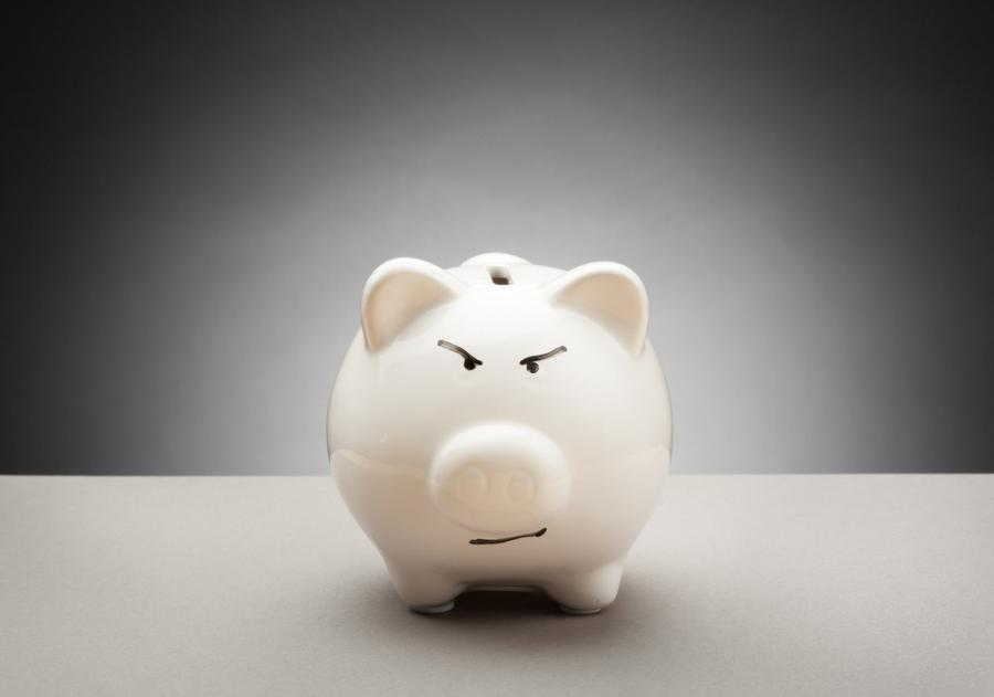 Skarbonka bank oszczędzanie