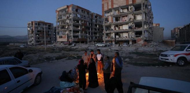 Trzęsienie ziemi w Iranie