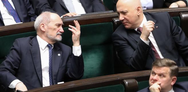 Antoni Macierewicz, Joachim Brudziński, Wojciech Skurkiewicz