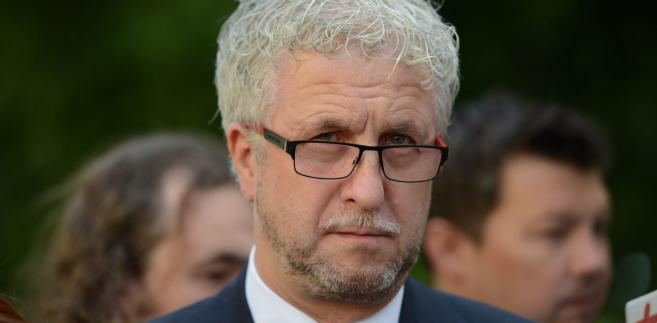 """Były wiceprezydent stolicy wyraził też pogląd, że lider PO Grzegorz Schetyna to """"dzisiaj największy problem Platformy""""."""