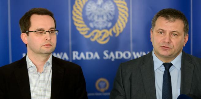 Sławomir Pałka i Waldemar Żurek