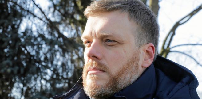 Adrian Zandberg, jeden z liderów Partii Razem.