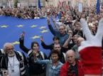 Policja: Przed gmachem Sądu Najwyższego demonstrowało 1,5 tys. osób