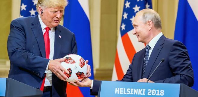Spotkanie Trumpa z Putinem zakończyło się skandalem