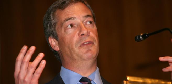 Nigel Farage. Fot. Euro Realist Newsletter/Flickr.com