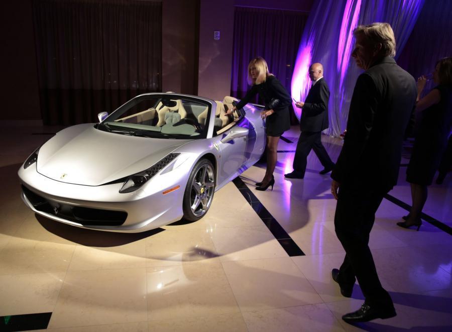 North American International Auto Show 2013: Ferrari SpA 458 Spider