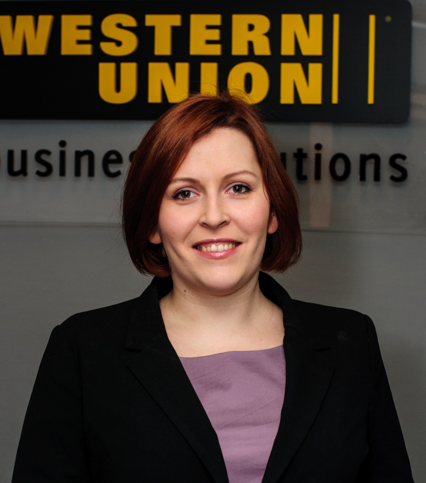 Agnieszka Durlej, Client Group Manager Western Union Business Solutions Polska