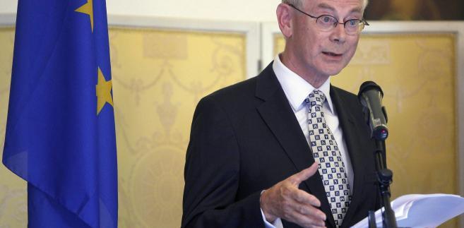 Herman van Rompuy po raz ostatni gościł w Polsce w styczniu ubiegłego roku. Wtedy decydowały się w Unii Europejskiej losy Paktu Fiskalnego.