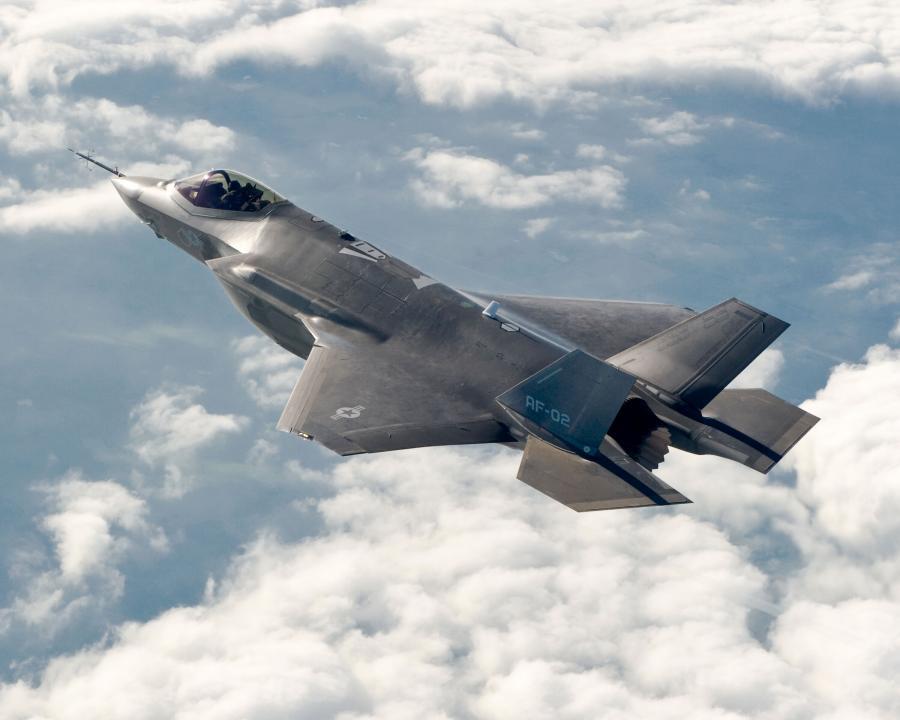 Myśliwec F-35 - zdjęcie zaprezentowane przez Lockeeda w 2011 roku