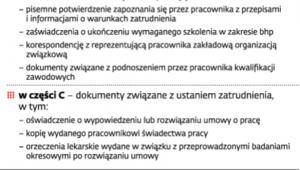Obowiązki dokumentacyjne pracodawcy