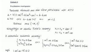 Rozwiązanie zadania 6 - część 1