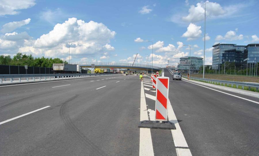 Budowy trasy S2/S79 Puławska-Lotnisko-Marynarska fot. GDDKiA