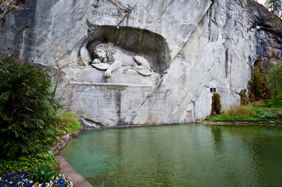 Pomnik Lwa w Lucernie
