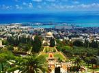 Wiszące ogrody Bahai w Hajfie. Od 2008 roku wiszące ogrody Bahai widnieją na liście Światowego Dziedzictwa Kulturowego UNESCO, bywają również określane mianem ósmego cudu świata.