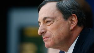 Mario Draghi, prezes Europejskiego Banku Centralnego