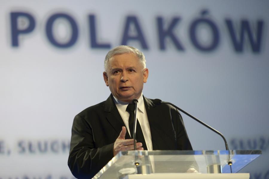 Jarosław Kaczyński. Fot. Bartłomiej Zborowski