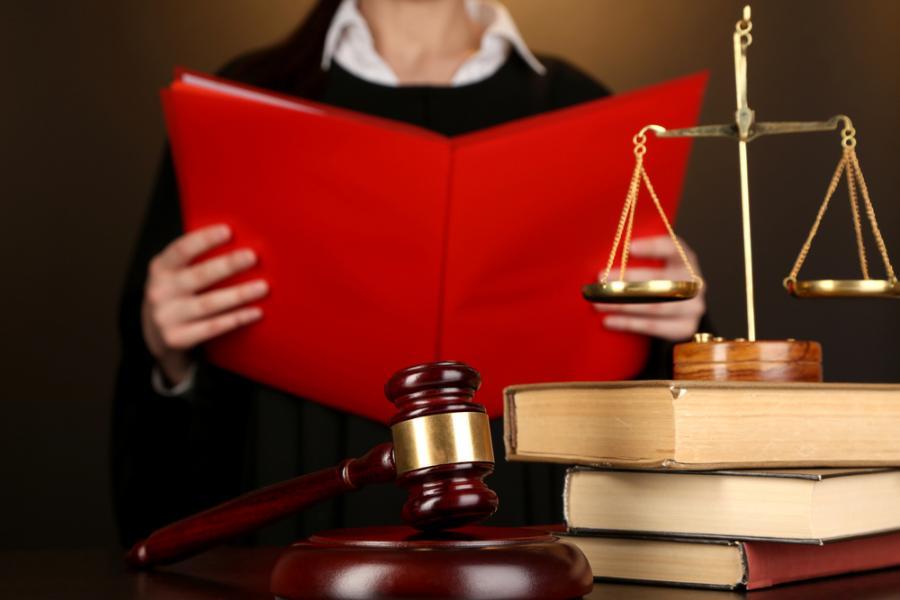prawo, sąd, młotek