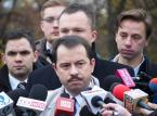 Artur Zawisza usłyszał zarzuty za jazdę samochodem bez uprawnień. Były poseł odmówił składania wyjaśnień