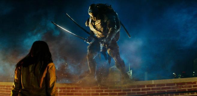 Wojownicze Żółwie Ninja - kadr z filmu