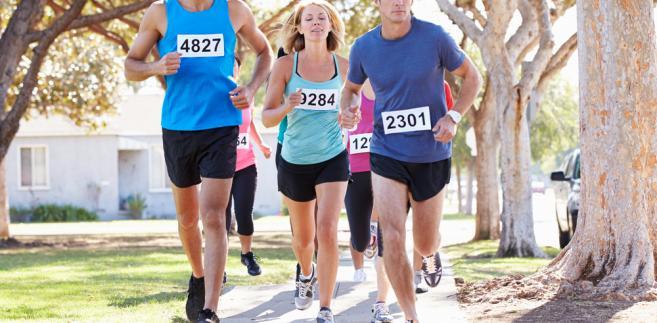 bieganie, maraton