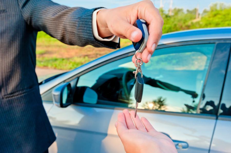 sprzedaż auta, kluczyki