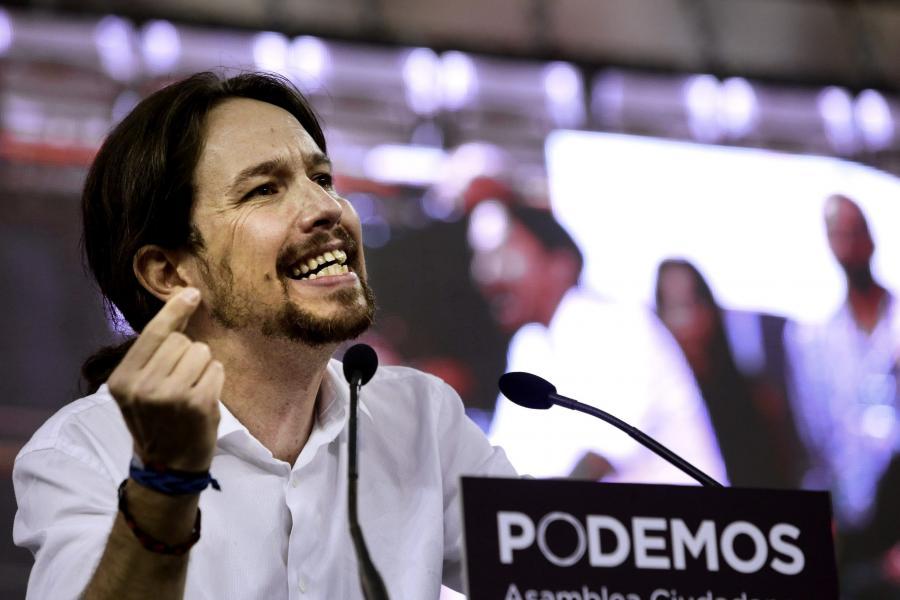 Pablo Iglesias z partii Podemos