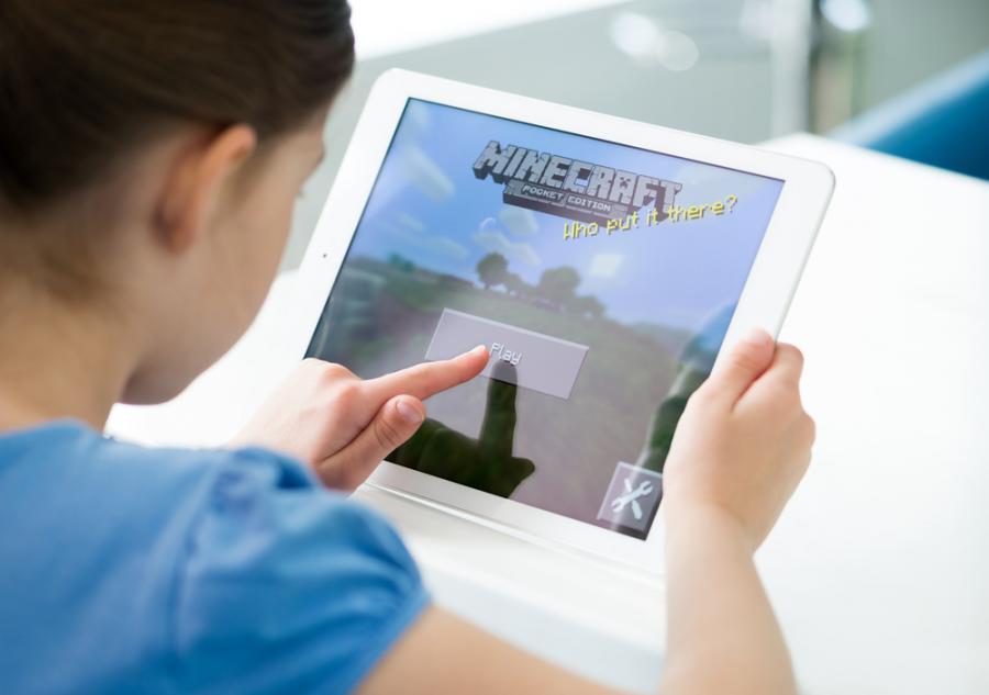 Minecraft, iPadAir