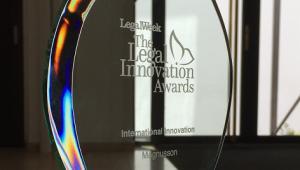 THE LEGAL INNOVATION AWARDS 2015