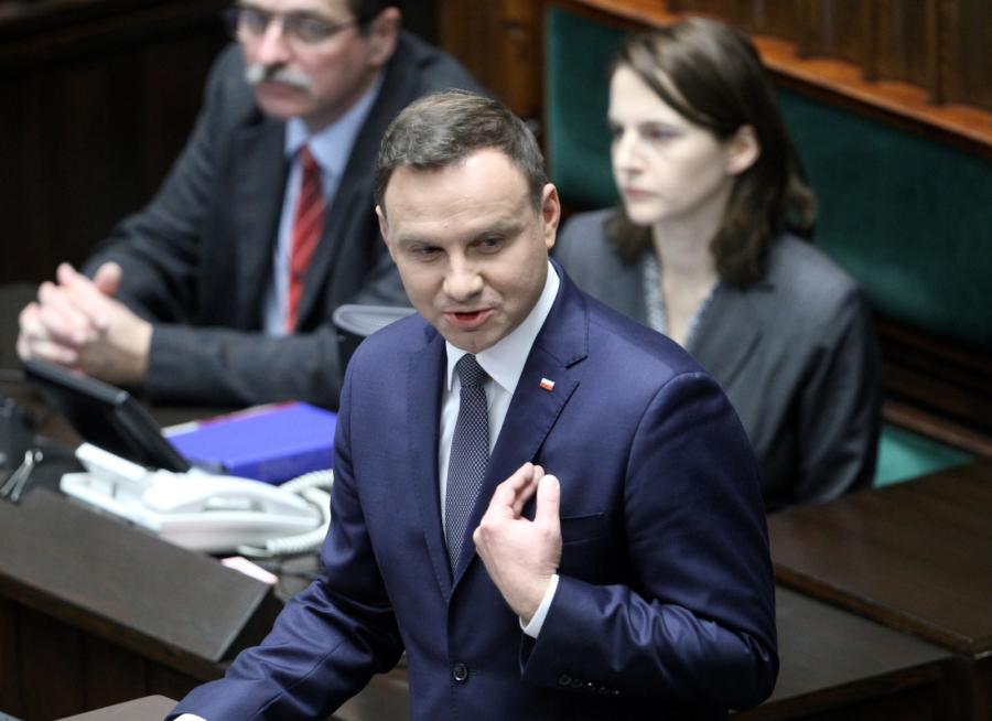 Andrzej Duda w Sejmie