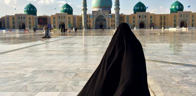 islam, burka, meczet, iran