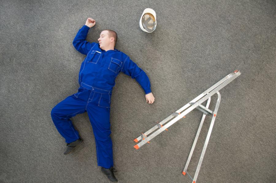 wypadek w pracy, praca, pracownik