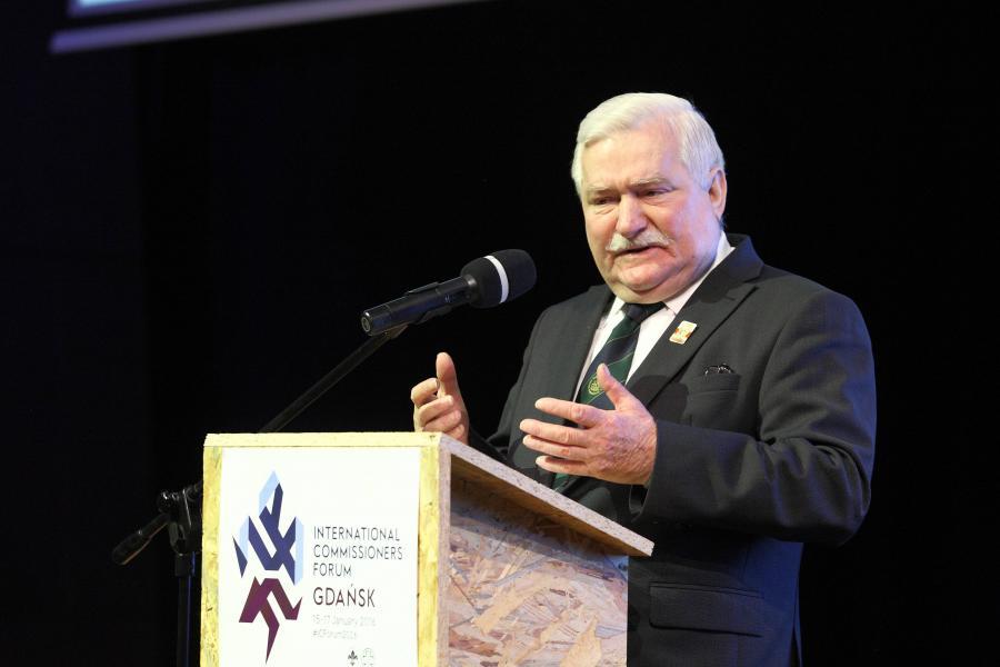 Lech Wałęsa o Szydło