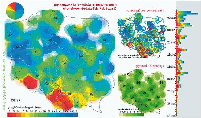 Mapa Grzybiarzy Zanim Wybierzesz Sie Do Lasu Sprawdz Gdzie