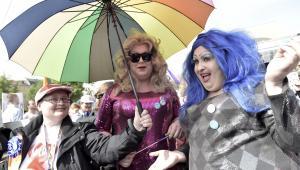 Uczestnicy Trójmiejskiego Marszu Równości, zorganizowanego przez Stowarzyszenie na rzecz osób LGBT - Tolerado,  PAP/Adam Warżawa