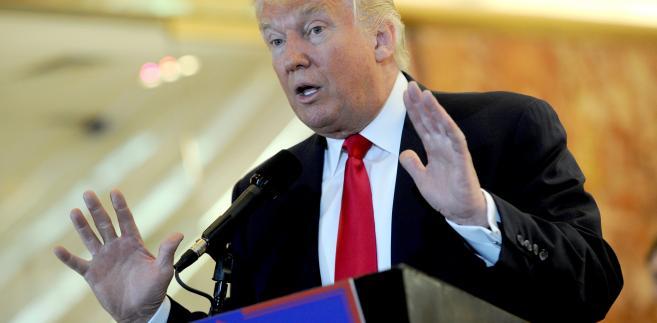 Donald Trump, lider republikanów w wyścigu prezydenckim w USA